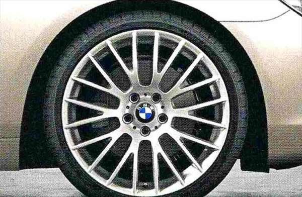 6 COUPE パーツ クロロスポーク・スタイリング312(シルバー) ホイール単体9J×20(リヤ) BMW純正部品 LW30C YM44C オプション アクセサリー 用品 純正 送料無料