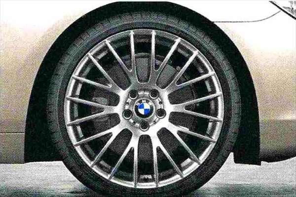 6 COUPE パーツ クロロスポーク・スタイリング312(フェリック・グレー) ホイール単体8.5J×20(フロント) BMW純正部品 LW30C YM44C オプション アクセサリー 用品 純正 送料無料