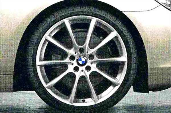 6 COUPE パーツ Vスポーク・スタイリング281 ホイール単体8.5J×20(フロント) BMW純正部品 LW30C YM44C オプション アクセサリー 用品 純正 送料無料