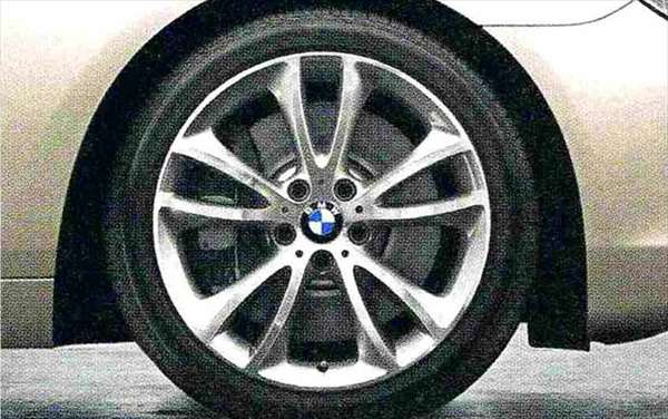 6 COUPE パーツ Vスポーク・スタイリング366 ホイール単体9J×19(リヤ) BMW純正部品 LW30C YM44C オプション アクセサリー 用品 純正 送料無料