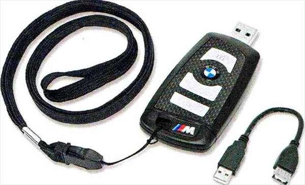 """6 COUPE パーツ BMWリモート・コントロール・キー型""""M""""USBメモリー・スティック8GB BMW純正部品 LW30C YM44C オプション アクセサリー 用品 純正"""