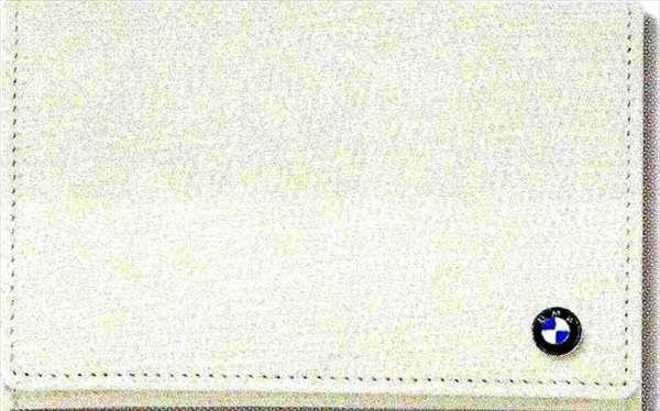 6 COUPE パーツ BMWカード・ケース ホワイト BMW純正部品 LW30C YM44C オプション アクセサリー 用品 純正