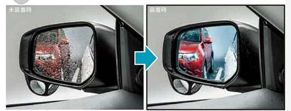 『RVR』 純正 GA4W 親水鏡面ドアミラー パーツ 三菱純正部品 オプション アクセサリー 用品