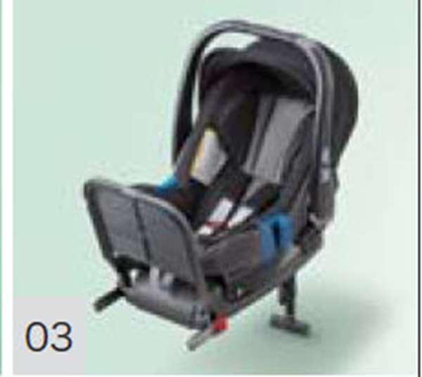 『グレイス』 純正 GM4 Honda Baby ISOFIX(サポートレッグタイプ/乳児用) パーツ ホンダ純正部品 GRACE オプション アクセサリー 用品
