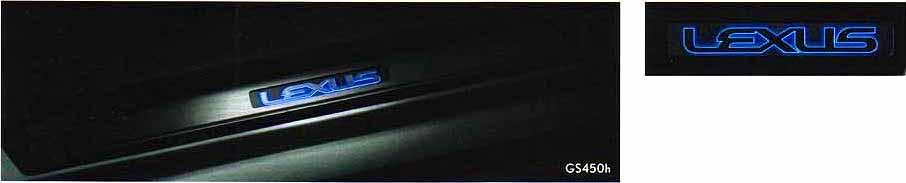 GS パーツ スカッフイルミネーション GS450h用 レクサス純正部品 BEXQB BETQH オプション アクセサリー 用品 純正 送料無料