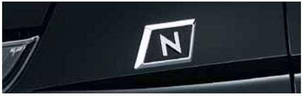 『N-WGN』 純正 JH1 JH2 フェンダーエンブレム(クロームメッキ/左右セット) パーツ ホンダ純正部品 ドレスアップ ワンポイント オプション アクセサリー 用品