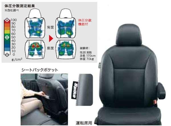 『フリードスパイク』 純正 GP3 シートカバー 革調タイプ 体圧分散機能付(運転席・助手席用セット) パーツ ホンダ純正部品 座席カバー 汚れ シート保護 FREED オプション アクセサリー 用品