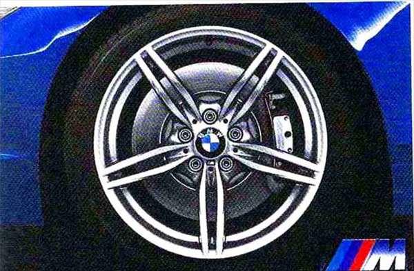 Z4 パーツ Mダブルスポーク・スタイリング326 ホイール単体 9J×19 リヤ BMW純正部品 LL20 LM30 LM35 オプション アクセサリー 用品 純正 送料無料