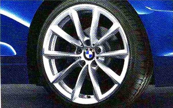 Z4 パーツ Vスポーク・スタイリング296 ホイール単体 9J×19 リヤ BMW純正部品 LL20 LM30 LM35 オプション アクセサリー 用品 純正 送料無料