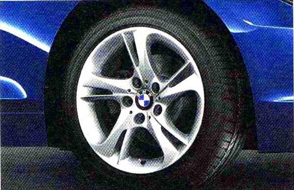 Z4 パーツ タービン・スタイリング292 ホイール単体 8.5J×17 リヤ BMW純正部品 LL20 LM30 LM35 オプション アクセサリー 用品 純正 送料無料