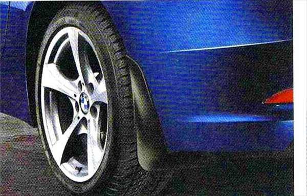 Z4 パーツ マッド・フラップ (2枚入り) BMW純正部品 LL20 LM30 LM35 オプション アクセサリー 用品 純正