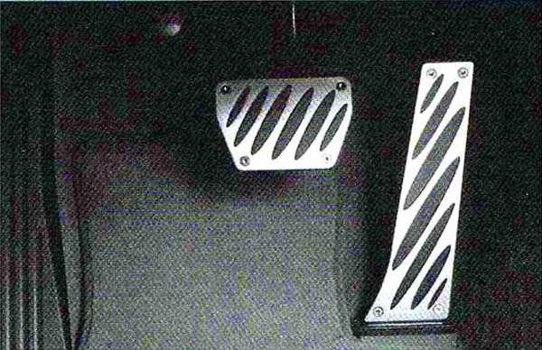 Z4 パーツ アルミニウム・ペダル・セット BMW純正部品 LL20 LM30 LM35 オプション アクセサリー 用品 純正