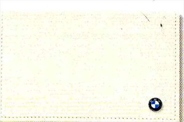 Z4 パーツ BMWカード・ケース ホワイト BMW純正部品 LL20 LM30 LM35 オプション アクセサリー 用品 純正