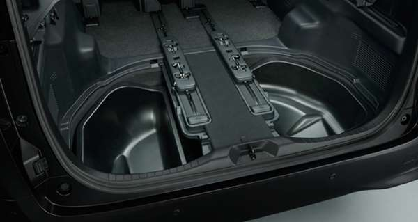 『ヴェルファイア』 純正 AYH30W GGH30W AGH30W GGH35W AGH35W GGH35W ラゲージアンダートレイ(スペアタイヤ(メーカーオプション)付車用) パーツ トヨタ純正部品 ラゲージトレイ 荷室トレイ ラゲッジ オプション アクセサリー 用品