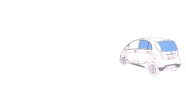 『アイ』 純正 HA1W HA3W UV&IRカットフィルム(スモークタイプ) パーツ 三菱純正部品 日除け カーフィルム オプション アクセサリー 用品
