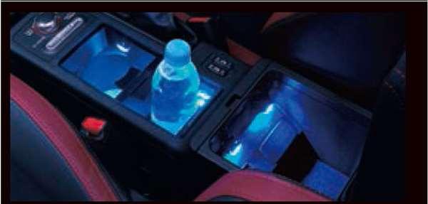 『WRX STI』 純正 VAB センターコンソールイルミネーション パーツ スバル純正部品 照明 明かり ライト オプション アクセサリー 用品