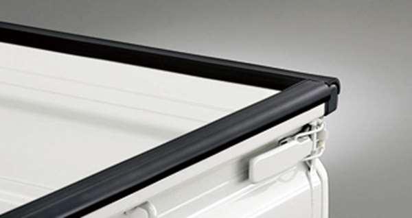 『ピクシストラック』 純正 S201U ゲートプロテクター ゴム パーツ トヨタ純正部品 荷台モール アオリ pixis オプション アクセサリー 用品