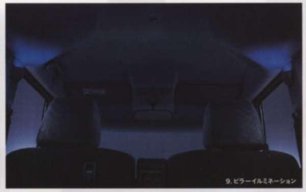 『NBOX』 純正 JF1 JF2 ピラーイルミネーション(センターピラー左右2個セット) パーツ ホンダ純正部品 照明 ライト オプション アクセサリー 用品