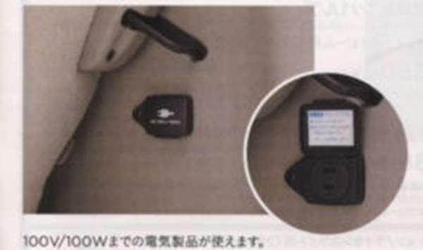 『NBOX』 純正 JF1 JF2 ACコンセント(100V/100W) パーツ ホンダ純正部品 AC100V コンセント 電源 オプション アクセサリー 用品