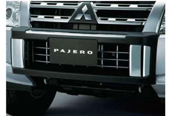 『パジェロ』 純正 V98W スタイルドバンパープロテクター パーツ 三菱純正部品 PAJERO オプション アクセサリー 用品