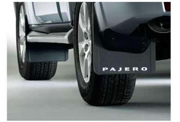 『パジェロ』 純正 V98W マッドフラップ パーツ 三菱純正部品 PAJERO オプション アクセサリー 用品