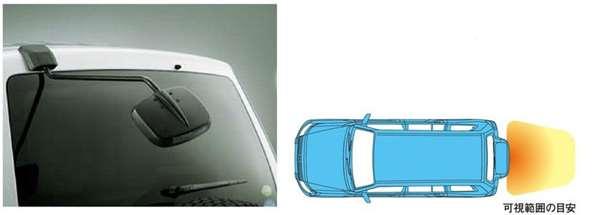 『パジェロ』 純正 V98W リヤアンダーミラー パーツ 三菱純正部品 PAJERO オプション アクセサリー 用品