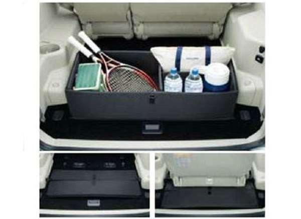 『パジェロ』 純正 V98W ラゲッジパーティションボックス パーツ 三菱純正部品 PAJERO オプション アクセサリー 用品