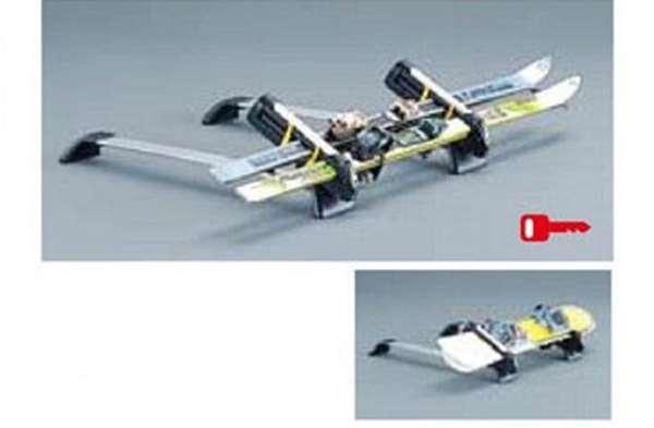 『パジェロ』 純正 V98W Sliding Magic Roof Carrierスキー&スノーボードアタッチメント(斜積アルミロング) パーツ 三菱純正部品 キャリア別売りキャリア別売り PAJERO オプション アクセサリー 用品