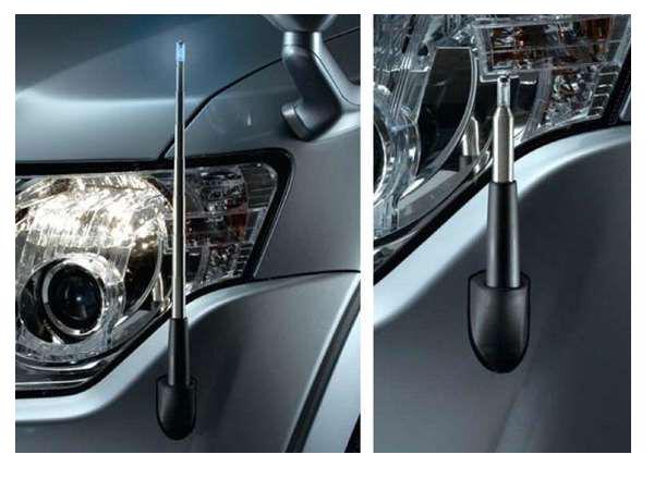 『パジェロ』 純正 V98W コーナーポール パーツ 三菱純正部品 PAJERO オプション アクセサリー 用品