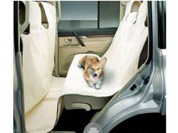『パジェロ』 純正 V98W ドッグシートカバー(セカンドシート用) パーツ 三菱純正部品 座席カバー 汚れ シート保護 PAJERO オプション アクセサリー 用品