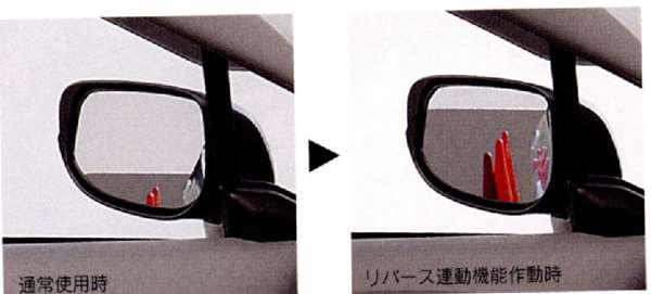 『インサイト』 純正 ZE2 リバース連動ドアミラー パーツ ホンダ純正部品 insight オプション アクセサリー 用品