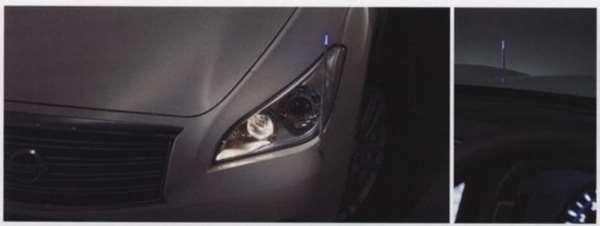『フーガ』 純正 KY51 Y51 KNY51 電動格納式ネオンコントロール 標準タイプ バンパー用 パーツ 日産純正部品 コーナーポール フェンダーランプ フェンダーライト fuga オプション アクセサリー 用品