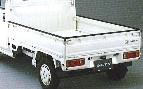 『アクティ』 純正 HA6 HA7 ゲートプロテクター(ラバー製) パーツ ホンダ純正部品 荷台モール アオリ acty オプション アクセサリー 用品