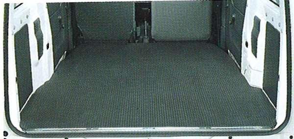 『アクティ』 純正 HA6 HA7 ラゲッジマット(ラバー製/ブラック) パーツ ホンダ純正部品 ラゲージマット 荷室マット 滑り止め acty オプション アクセサリー 用品