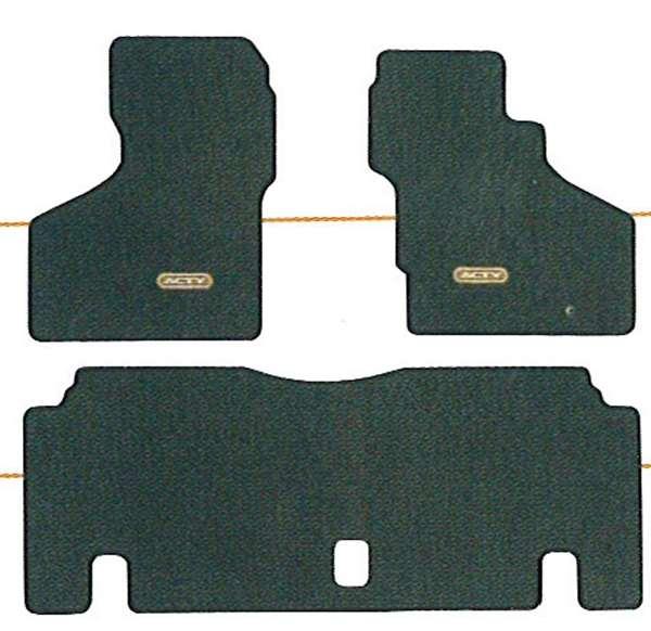『アクティ』 純正 HA6 HA7 フロアカーペットマット(ベーシック・レベルカット/グレー) パーツ ホンダ純正部品 フロアカーペット カーマット カーペットマット acty オプション アクセサリー 用品