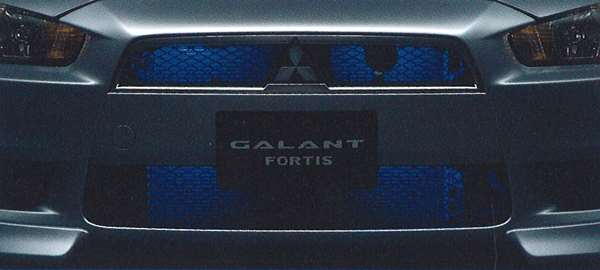 『ギャランフォルティス』 純正 CY4A グリル&バンパーイルミネーション パーツ 三菱純正部品 ライト 照明 ドレスアップ GALANTFORTIS オプション アクセサリー 用品