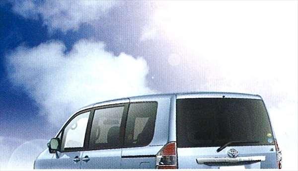 『ノア』 純正 ZRR75 IR(赤外線)カットフィルムリヤサイド・バックガラス(スモーク) パーツ トヨタ純正部品 日除け カーフィルム noa オプション アクセサリー 用品