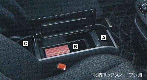 『ヴォクシー』 純正 ZRR70 ZRR75 コンソールボックス パーツ トヨタ純正部品 voxy オプション アクセサリー 用品