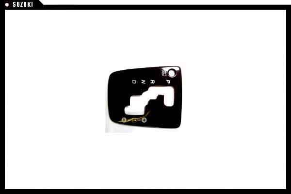 코펜하겐의 우드 조 AT 시프트 패널 다이하쓰 순정 부품 コペンパーツ [l880] 하 츠 파트 츠 순정 순정 daihatsu 부품 옵션 우드 그레인 패널 이동