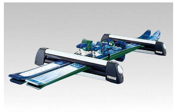 『CX-3』 純正 DK5FW DK5AW スキー/スノーボードアタッチメント(THULE製・Bタイプ) パーツ マツダ純正部品 キャリア別売りキャリア別売り オプション アクセサリー 用品