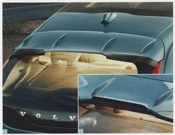 V40零件屋顶扰流器 ※供屋顶扰流器使用的嘴唇作为分售的沃尔沃纯正零部件MB4164T MB5204T选项配饰用品纯正earo