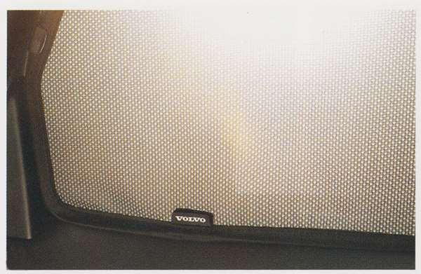 V40 パーツ サンシェード リアウインド用 ボルボ純正部品 MB4164T MB5204T オプション アクセサリー 用品 純正