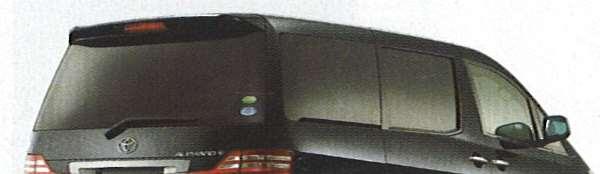 『アルファード』 純正 MNH10 MNH15 IR(赤外線)カットフィルム リヤサイド・バックガラス(クリア) パーツ トヨタ純正部品 日除け カーフィルム alphard オプション アクセサリー 用品