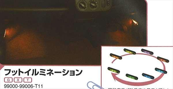 『MRワゴン』 純正 MF22 フットイルミネーション パーツ スズキ純正部品 照明 明かり ライト mrwagon オプション アクセサリー 用品