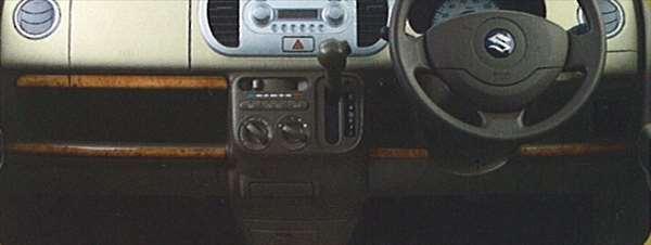 『MRワゴン』 純正 MF22 インパネガーニッシュ パーツ スズキ純正部品 ウッド 木目 内装パネル 飾り ドレスアップ 内装パネル 飾り ドレスアップ mrwagon オプション アクセサリー 用品