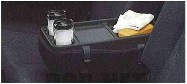 『エクシーガ』 純正 YA4 YA5 アームレストテーブル(ブラック) パーツ スバル純正部品 exiga オプション アクセサリー 用品
