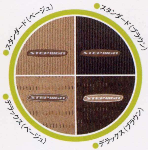 『ステップワゴン』 純正 RG1 RG2 フロアカーペットマット(デラックス) パーツ ホンダ純正部品 フロアカーペット カーマット カーペットマット STEPWGN オプション アクセサリー 用品