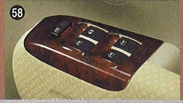 『タント』 純正 L350 パワーウインドスイッチパネル パーツ ダイハツ純正部品 内装ベゼル パワーウィンドウパネル tanto オプション アクセサリー 用品