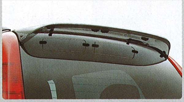 tks025 『テリオス』 純正 J131 バックバイザー パーツ ダイハツ純正部品 terios オプション アクセサリー 用品