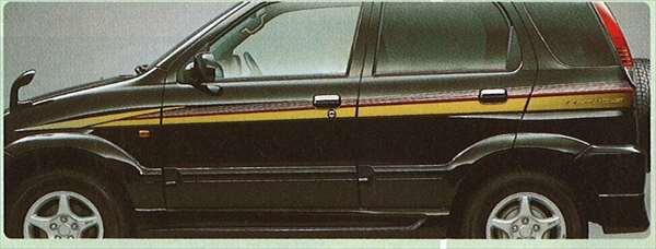 『テリオス』 純正 J131 ストライプ(ストリート) パーツ ダイハツ純正部品 メッキ デカール ステッカー シール terios オプション アクセサリー 用品